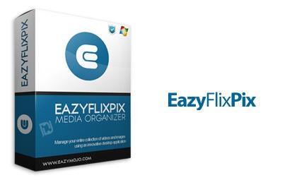 دانلود EazyFlixPix v4.5.7.0 - نرم افزار سازماندهی و مدیریت مجموعه تصاویر و فیلم ها