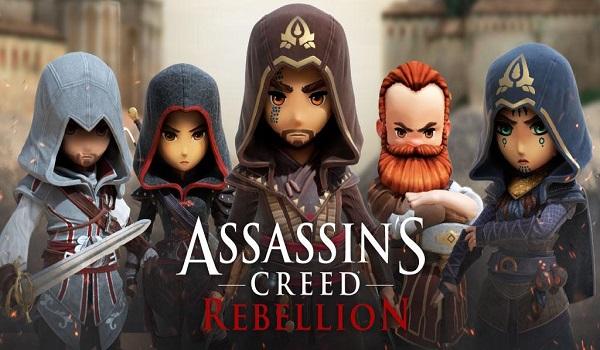 دانلود assassins creed rebellion 2 0 2   بازی اساسین کرید شورش اندروید