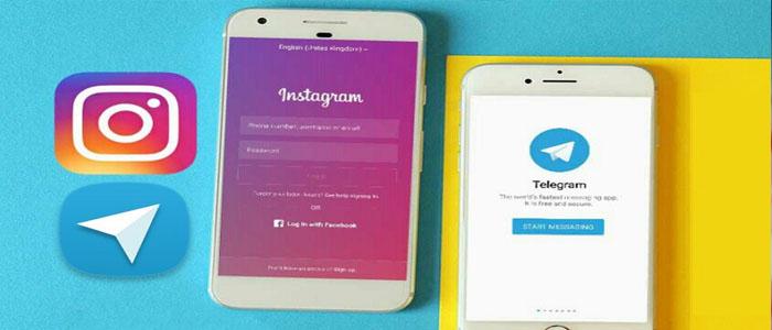 آموزش دانلود عکس و فیلم اینستاگرام با تلگرام نسخه ی جدید