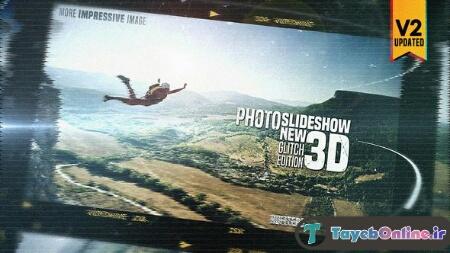 دانلود پروژه آماده افترافکت Photo Slideshow new 3D