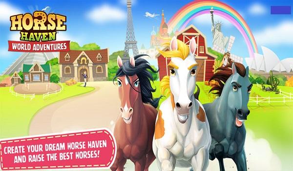 دانلود Horse Haven World Adventures 6.7.0 - بازی محبوب و زیبا پرورش اسب اندروید