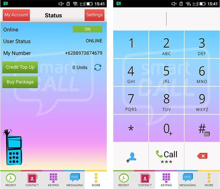 آموزش ساخت شماره مجازی اندونزی با برنامه Smart Call