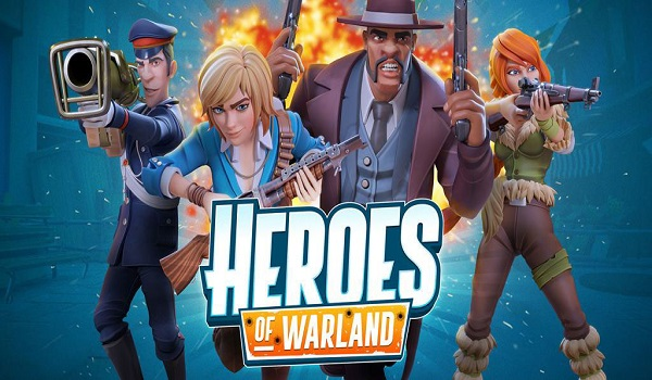 دانلود Heroes of Warland - PvP Shooter Arena 1.0.2 - بازی اکشن فوق العاده