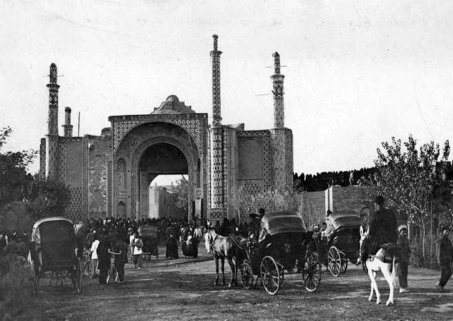 دروازه دولت تهران در دوره پهلوی