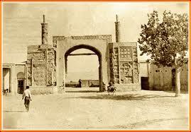 دروازه دولاب تهران در تهران قدیم در زمان پهلوی