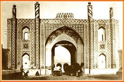 دروازه غار تهران قدیم