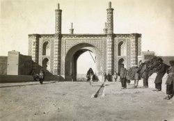 دروازه تهران -تهران قدیم زمان قاجار