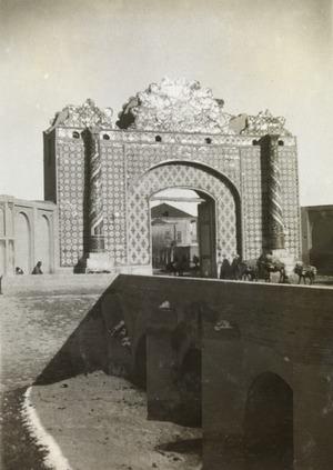 دروازه شاه عبدالعظیم  در تهران قدیم