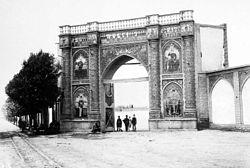 دروازه های تهران قدیم عکس