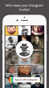 نمایش افرادی که از پروفایل اینستاگرام شما بازدید کرده اند برای اندروید