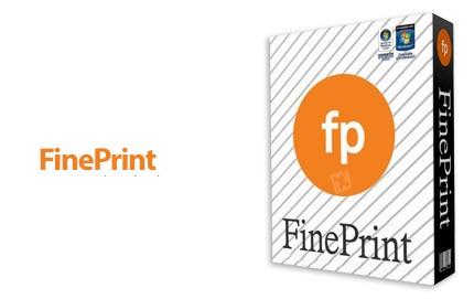 دانلود FinePrint v9.35 - نرم افزار مدیریت و کنترل مصرف جوهر پرینتر