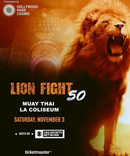 دانلود رویداد  موی تای | Lion Fight 50