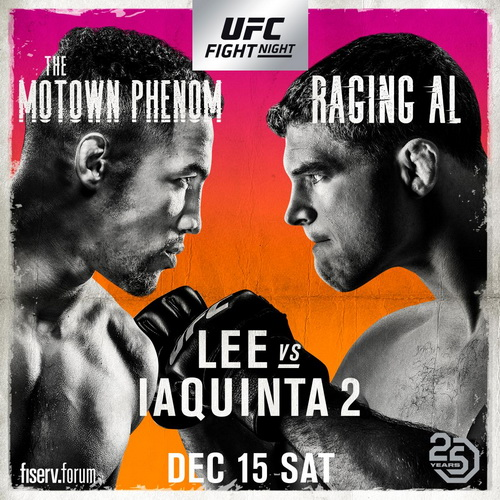 نتایج رویداد: UFC on Fox: Lee vs. Iaquinta 2