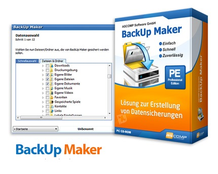 دانلود BackUp Maker Professional Edition v7.303 - نرم افزار پشتیبان گیری
