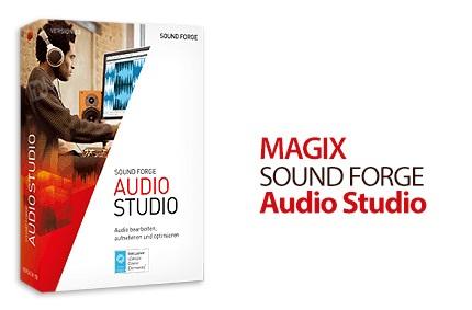 دانلود MAGIX Sound Forge Audio Studio v12.6.0 Build 361 - نرم افزار پیشرفته ی ویرایش فایلهای صوتی