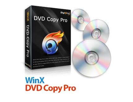 دانلود WinX DVD Copy Pro v3.9.1 - نرم افزار کپی کردن دی وی دی