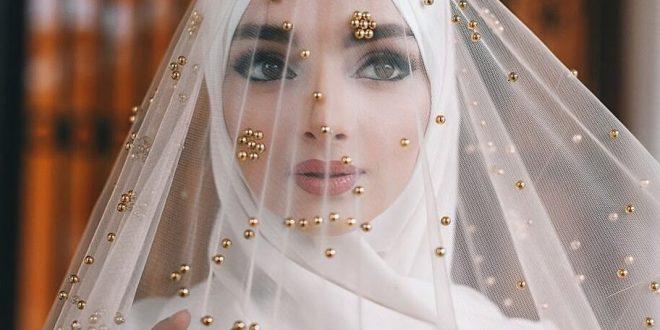لباس پوشیده عروس 98,لباس محجبه عروس 2019