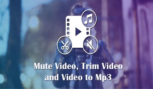 دانلود Video To MP3: Mute Video /Trim Video/Cut Video Pro 1.17 - برنامه پر امکانات تبدیل ویدئو به فایل صوتی اندروید