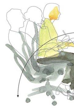 طراحی صندلی ارگونومیک