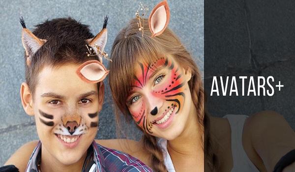 دانلود Avatars+ Full 1.34 - مجموعه ماسک های جذاب اندروید
