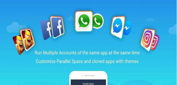 دانلود Parallel Space-Multi Accounts Full 4.0.8701 - برنامه ساخت چندین اکانت در اندروید