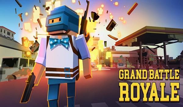 دانلود Grand Battle Royale: Pixel War 3.3.4 - بازی نبرد سلطنتی اندروید