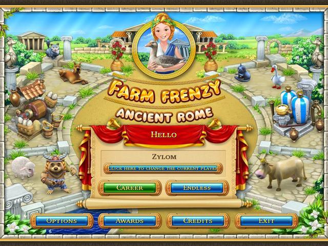 دانلود بازی Farm Frenzy Ancient Rome برای کامپیوتر