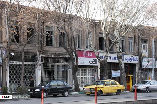 ویرانی آثار تبریز