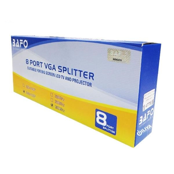 bafo bf-h237 1 to 8 vga splitter bafo bf-h237 1 to 8 vga splitter Bafo BF-H237 1 To 8 VGA Splitter Bafo BF H237 1 To 8 VGA Splitter