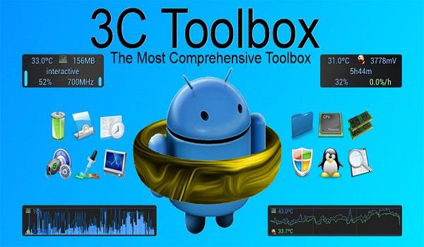دانلود 3C Toolbox Pro 1.9.9.7.2 - جامع ترین جعبه ابزار اندروید