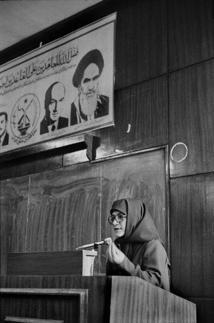 تصویری از اشرف ربیعی همسر مسعود رجوی