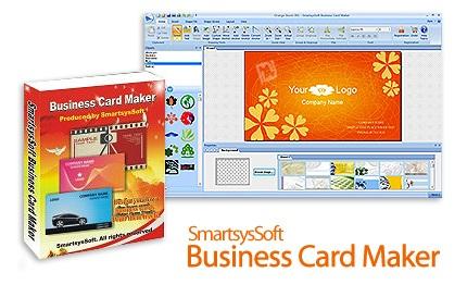 دانلود SmartsysSoft Business Card Maker v3.26 - نرم افزار طراحی کارت ویزیت