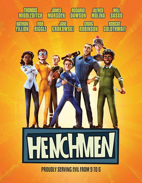 دانلود رایگان انیمیشن سینمایی هنچمن Henchmen 2018 WEB-D x264