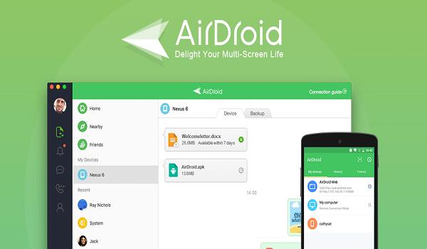 دانلود AirDroid: Remote access & File 4.2.1.5 - برنامه ایردروید مدیریت اندروید از طریق اینترنت + ویندوز