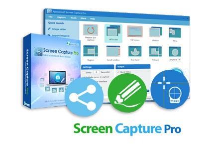 دانلود Apowersoft Screen Capture Pro v1.4.7.15 - نرم افزار عکسبرداری از صفحه نمایش با امکان ویرایش و ذخیره سازی مستقیم آن ها در یک فضای ابری