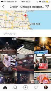 چگونگی مشاهده تصاویر یک منطقه خاص در اینستاگرام