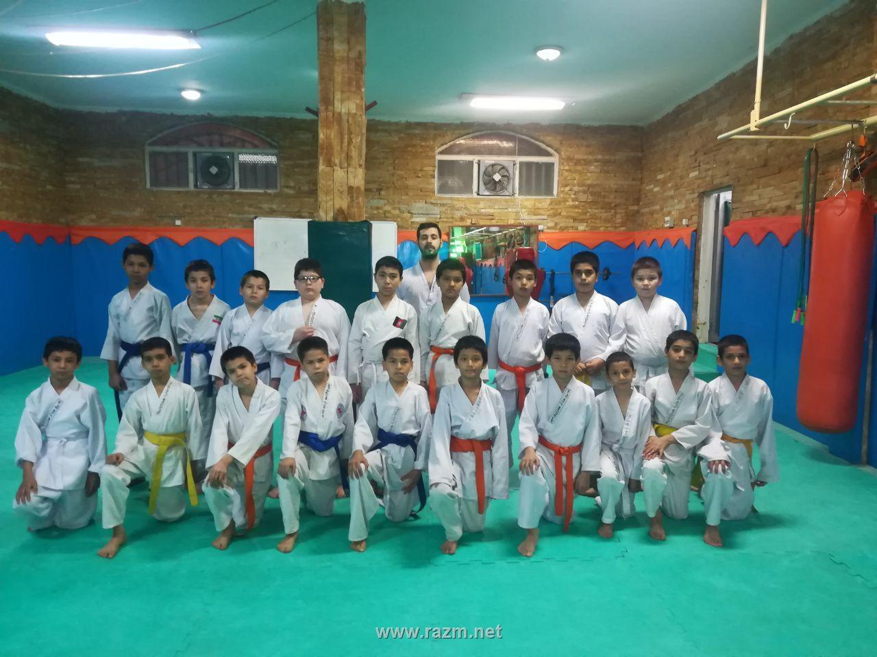 کلاس کاراته و رزمی نوجوانان