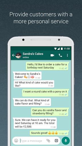 دانلود WhatsApp Business 2.19.29 واتس اپ بیزینس اندروید