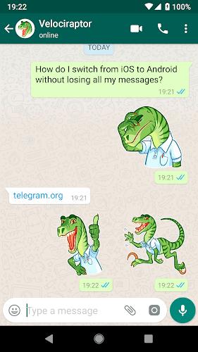 دانلود WhatsApp Stickers Telegram برنامه دانلود استیکر های تلگرام برای واتساپ اندروید