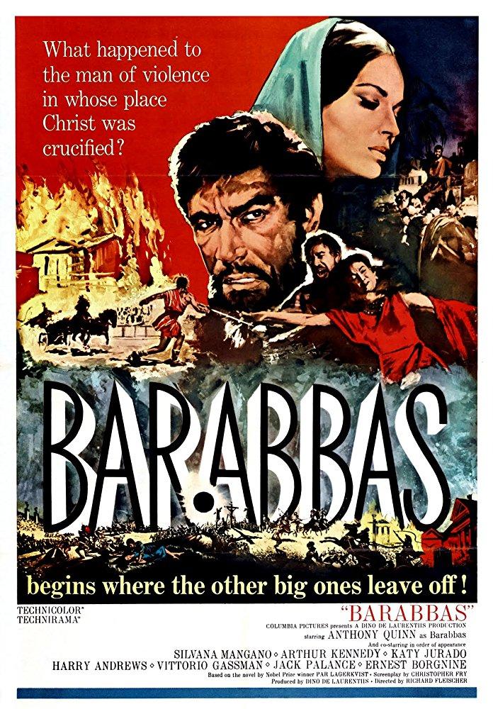 دانلود دوبله فارسی فیلم باراباس Barabbas 1961