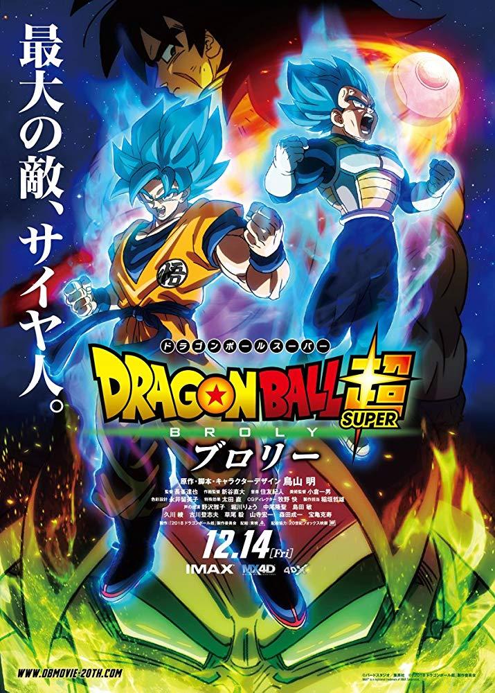 دانلود انیمیشن Dragon Ball Super: Broly 2018
