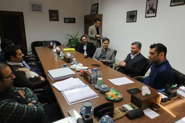 گزارش تصویری جلسه سرپرست شهرداری رشت و رئیس شورای اسلامی شهر با نمایندگان شرکت TTS