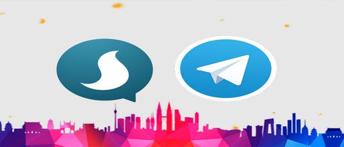 نحوه متصل کردن حساب تلگرام به حساب خود در پیام رسان سروش