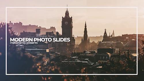 دانلود پروژه افترافکت MotionArray - Modern Photo Slides