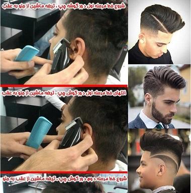 دانلود کتاب آموزش آرایشگری مردانه