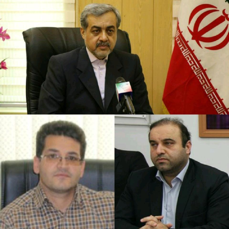 فرمانداران جدید شهرستانهای لاهیجان، آستارا و رضوانشهر منصوب شدند