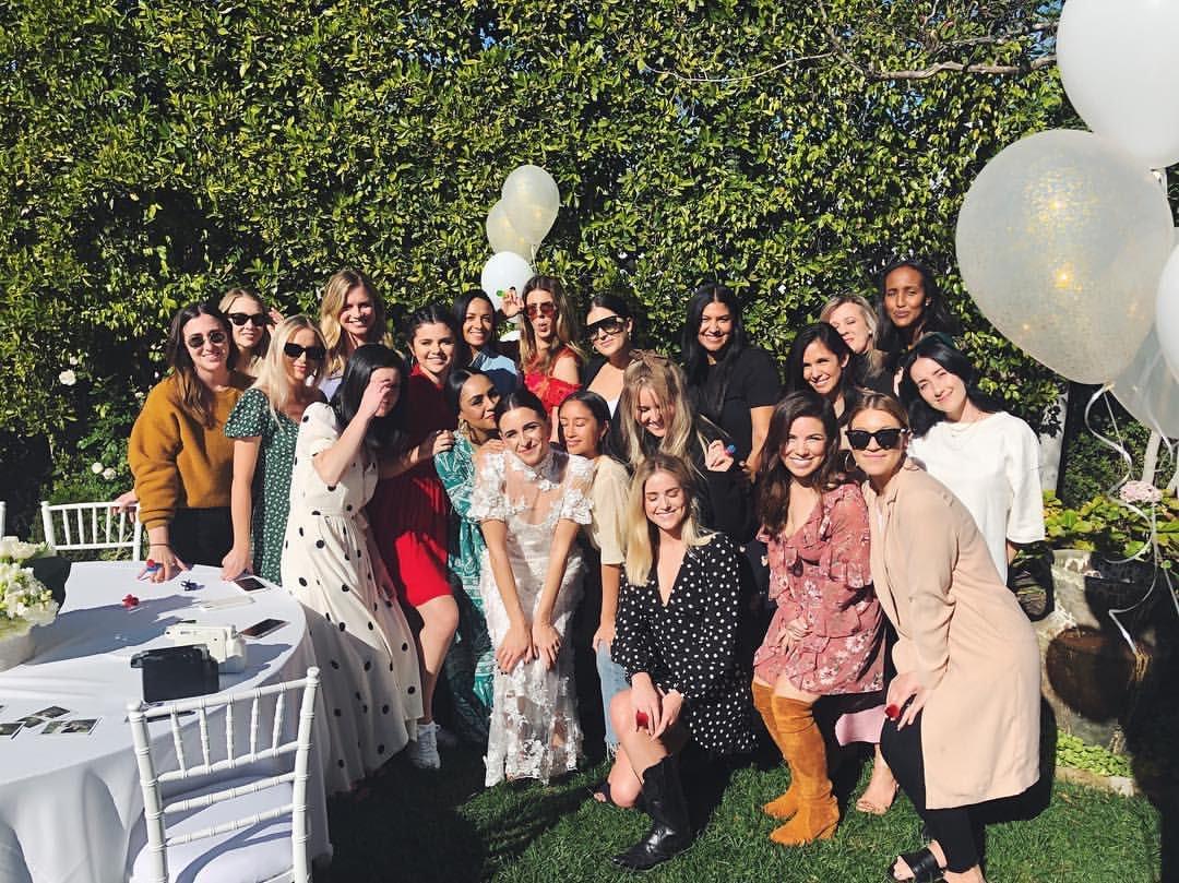 19 ژانویه | سلنا در bridal shower یک دوست در لس آنجلس