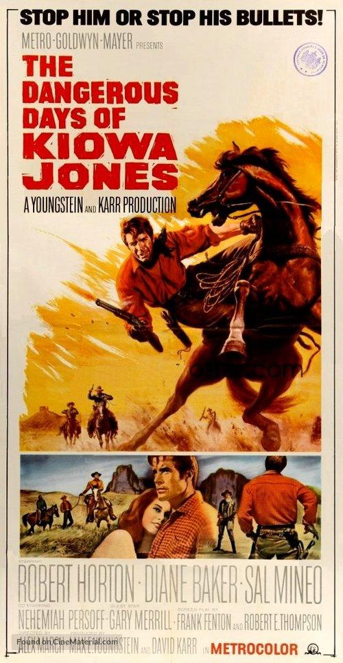 دانلود دوبله فارسی فیلم روزهای پرمخاطره The Dangerous Days of Kiowa Jones 1966