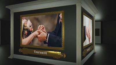 دانلود پروژه افترافکت عروسی : موزه عکس عروسی و رمانتیک