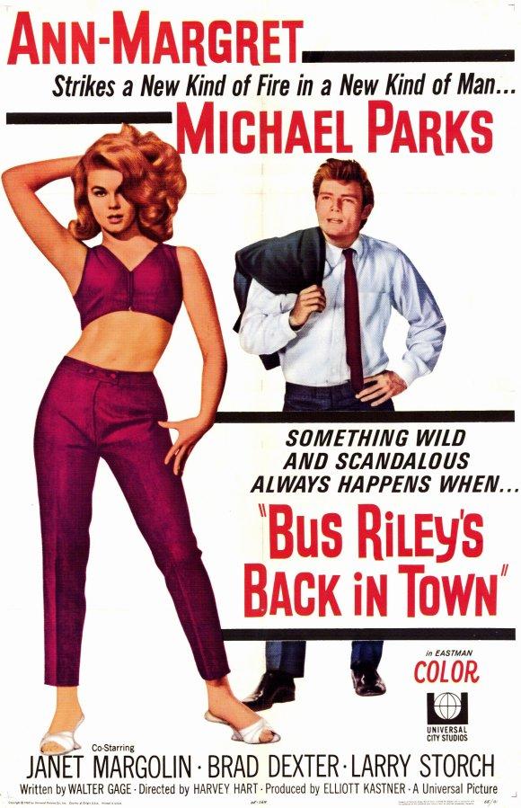 دانلود دوبله فارسی فیلم رایلی اتوبوس به شهر باز میگردد Bus Riley's Back in Town 1965